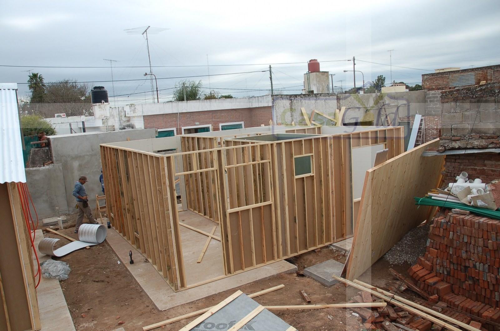 Proceso de armado de viviendas industrializadas for Casas industrializadas
